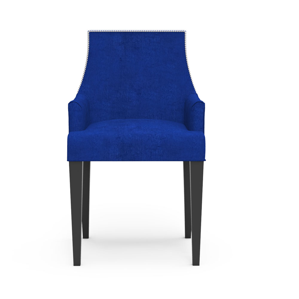 Carya Chair - Berry Blue