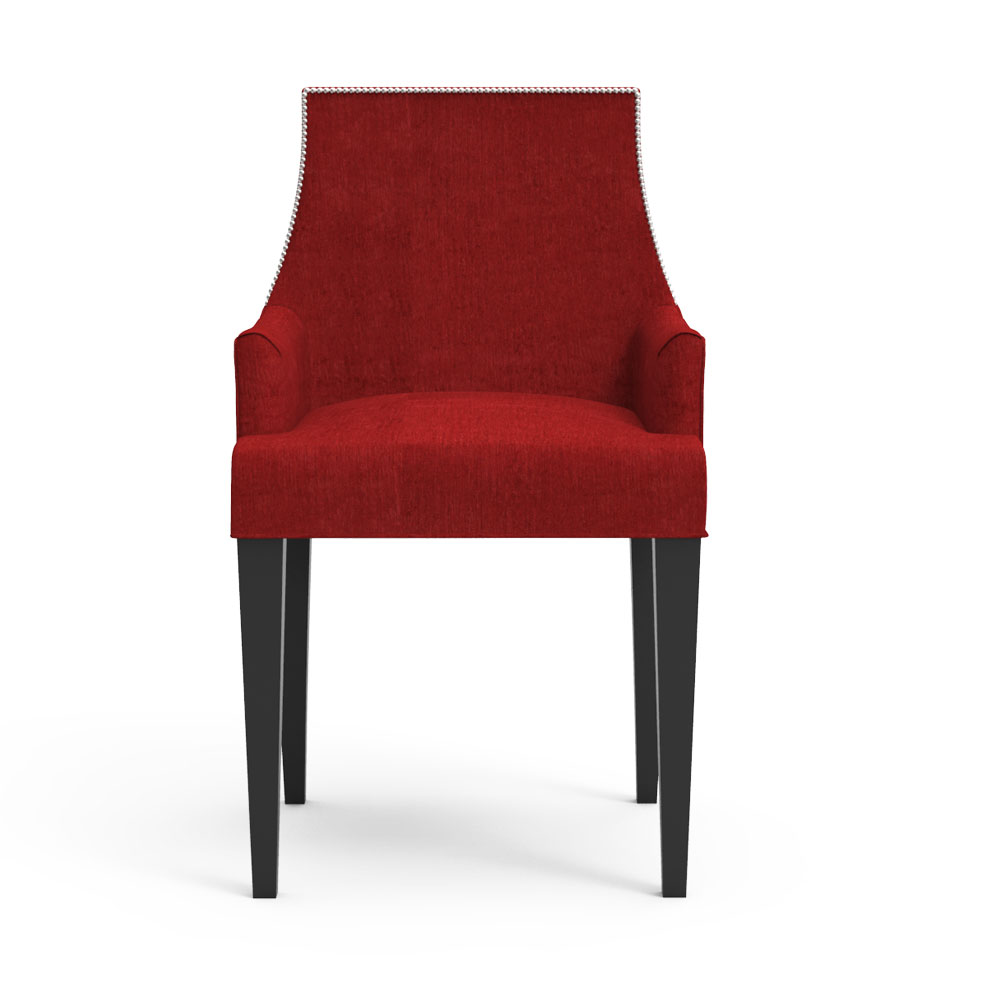 Carya Chair - Crimson Red
