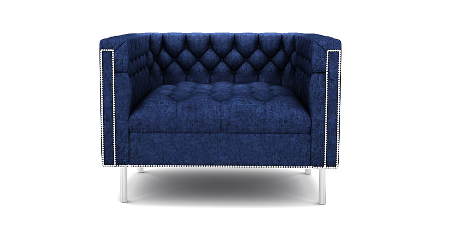 Rainforest Regal Sofa - Midnight Blue