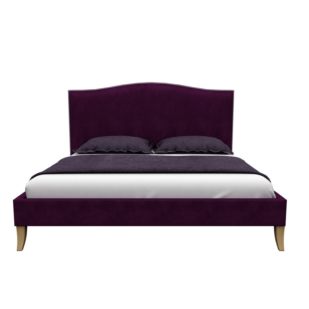 Pinup King size Bed-Violet