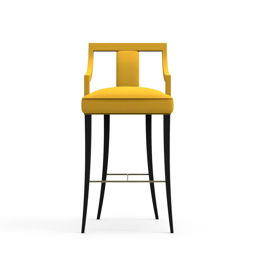 Porch high chair-Yellow