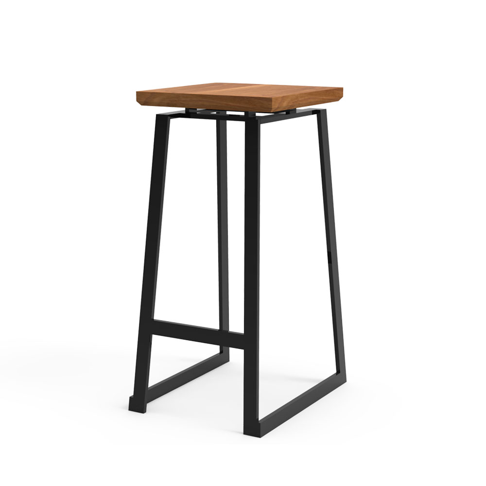 Canopy Rustic Bar Stool