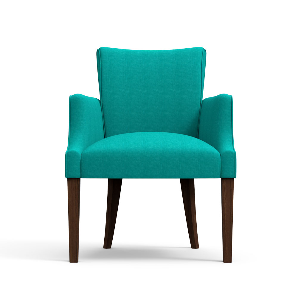 Floret Dining Chair-Arctic Blue