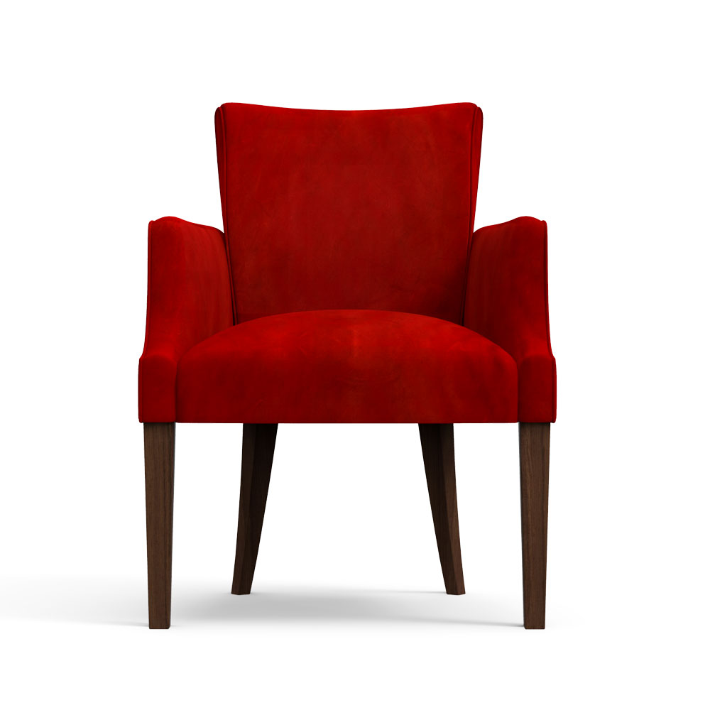 Floret Dining Chair-Scarlet Red