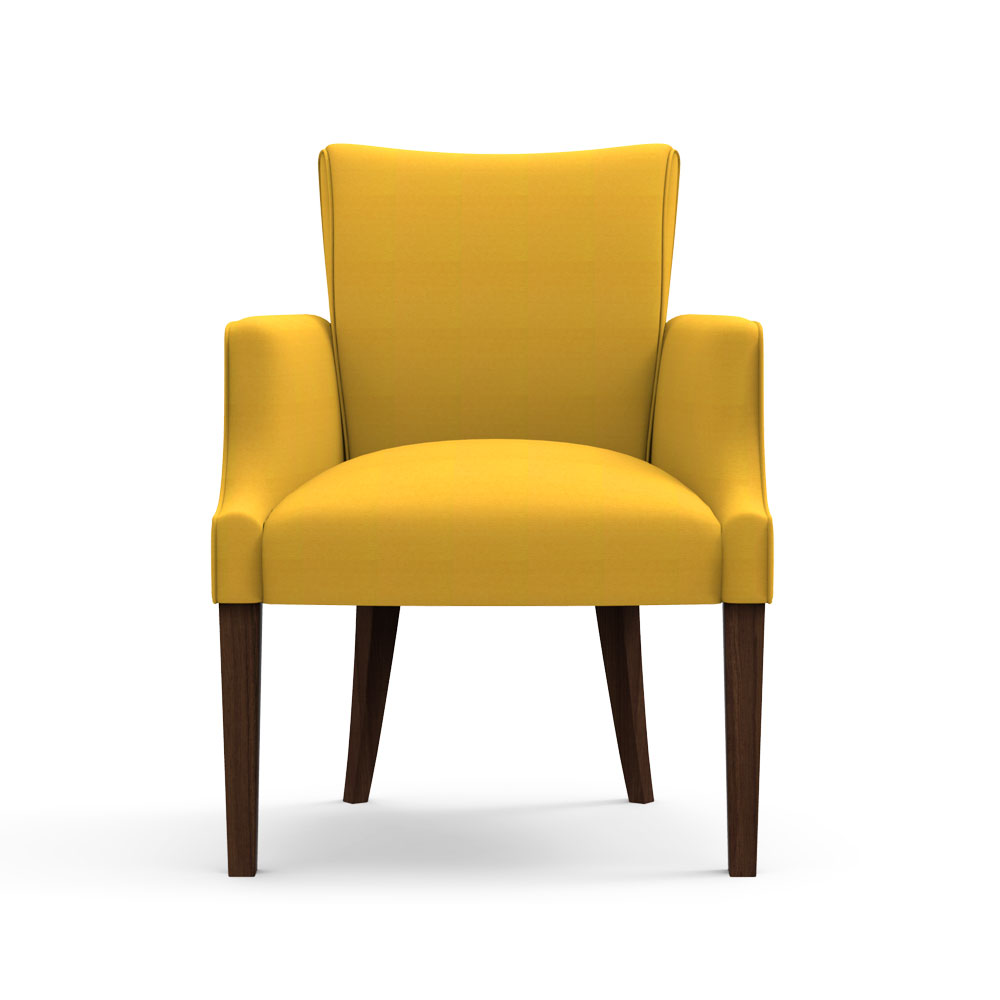 Floret Dinning Chair-Tuscan sun yellow