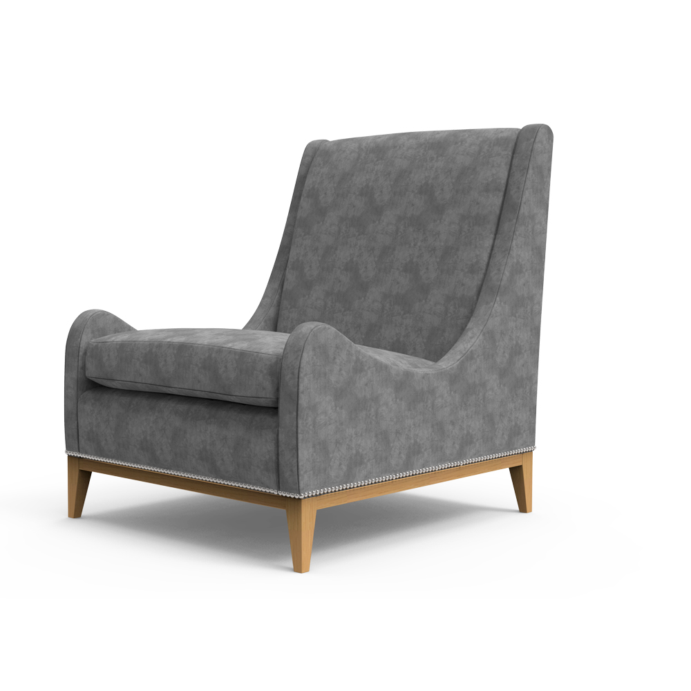 Canyon Club Chair-Grey