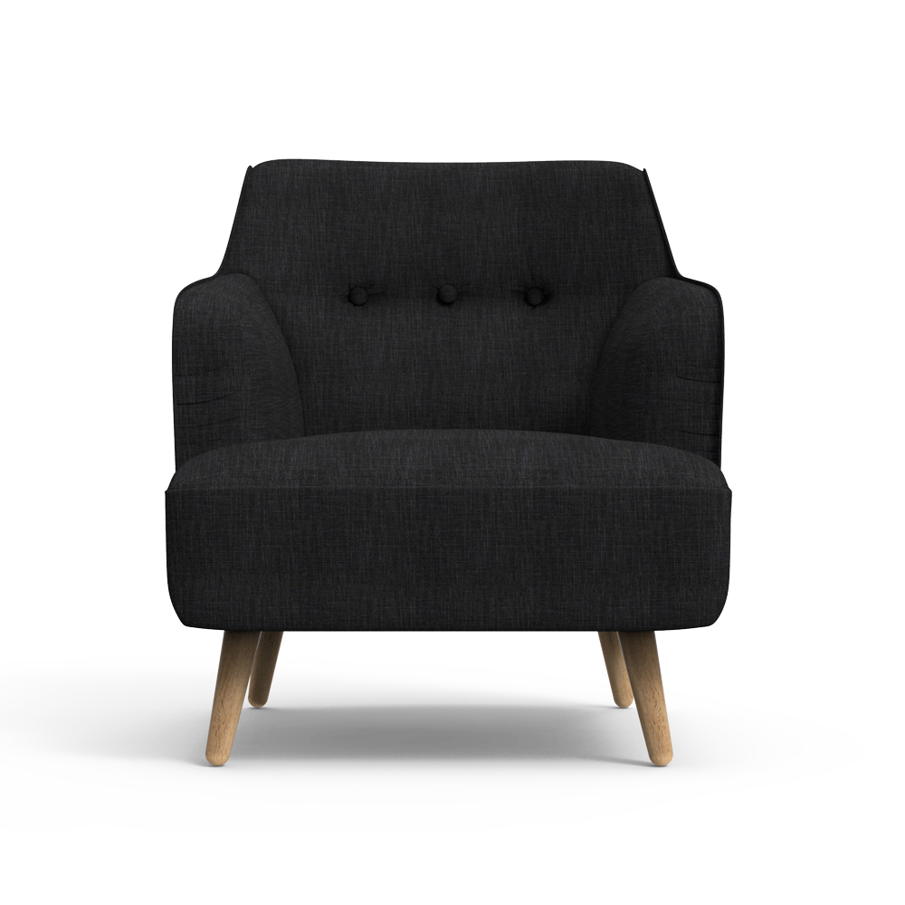 Haven Arm Chair-Black