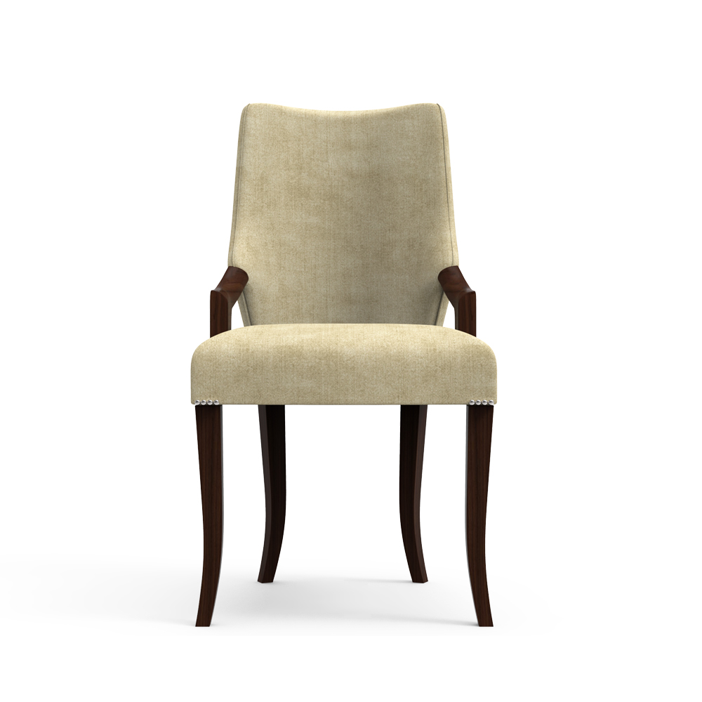 Expresso Beige  Dining Chair