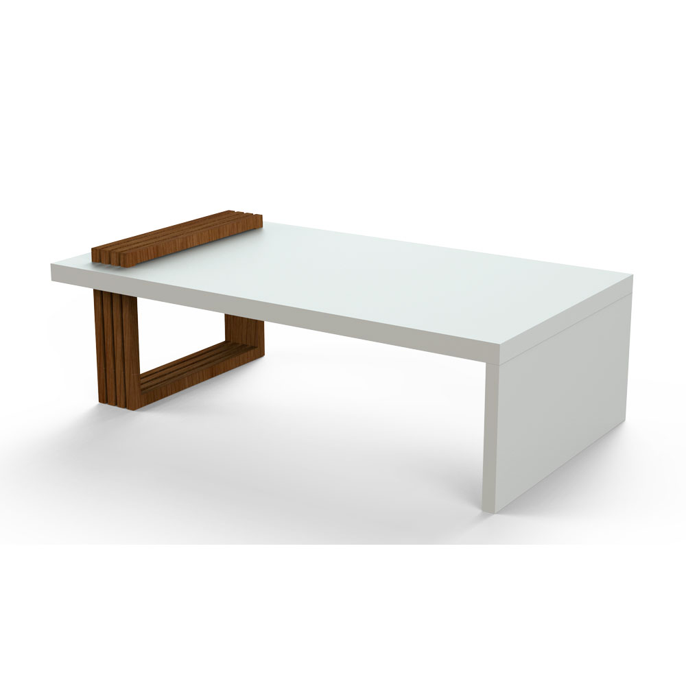 Beeline two tone center table