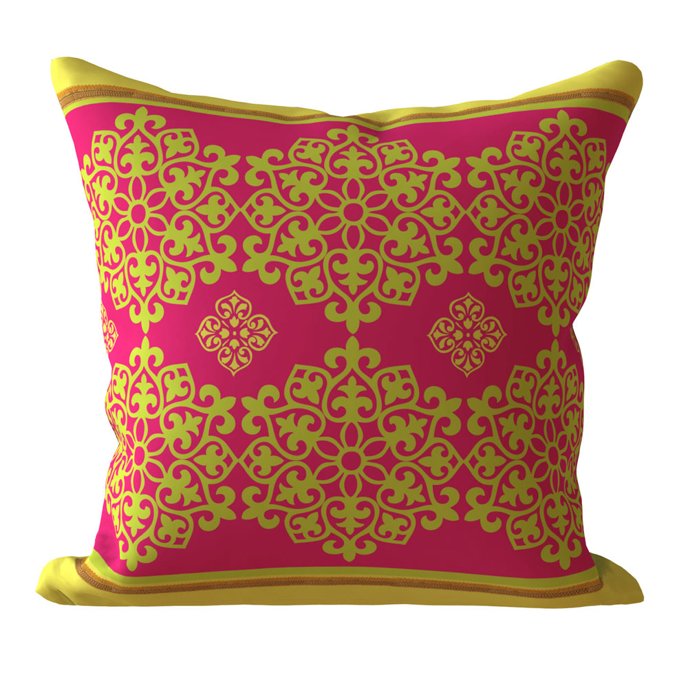Contemporary 16 x 16 inch Vintage Pink Cushion Cover-Set of 5