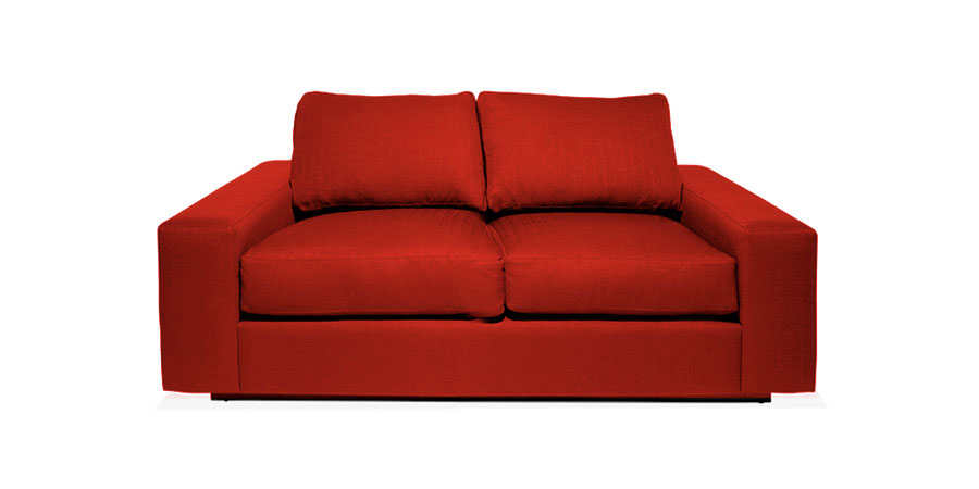 Marlow Sofa - Crimson Red