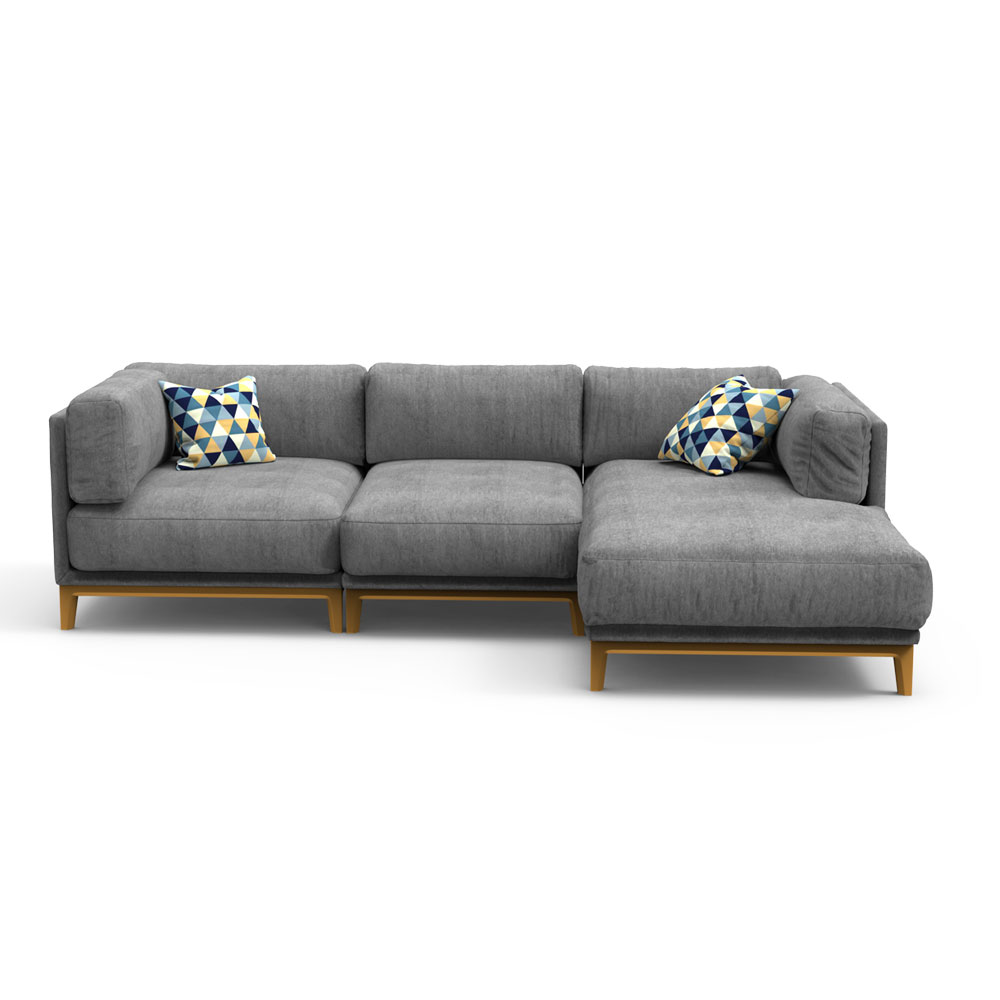 NEO Sectional Sofa - Grey