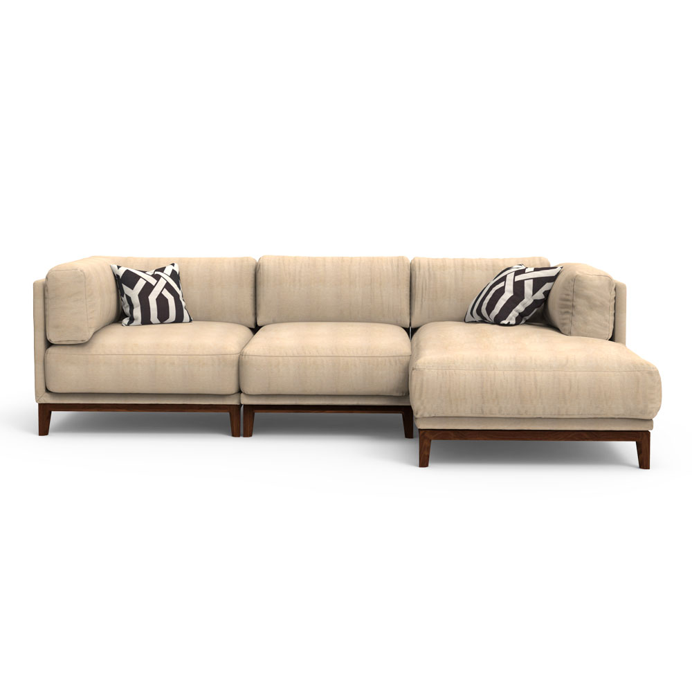 NEO Sectional Sofa - Beige