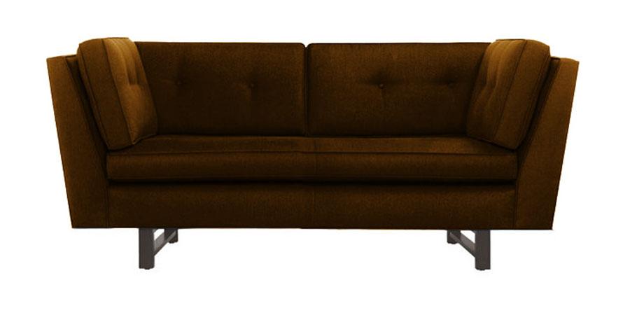 W sofa - Camel Brown