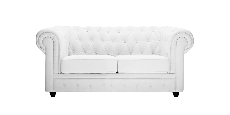 CHESTER SOFA - SNOW WHITE