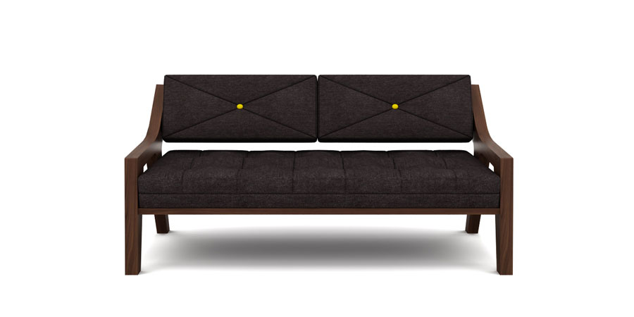 MOTDTRA SOFA - CHARCOAL GREY