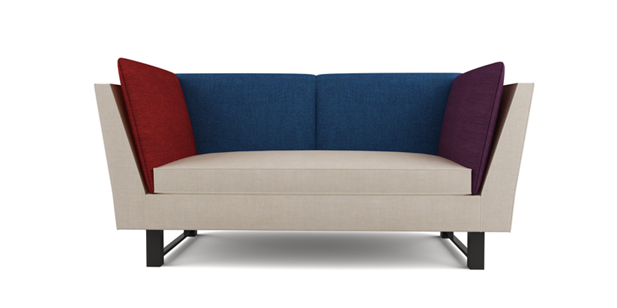 MULTI-COLORED SOFA - LINEN