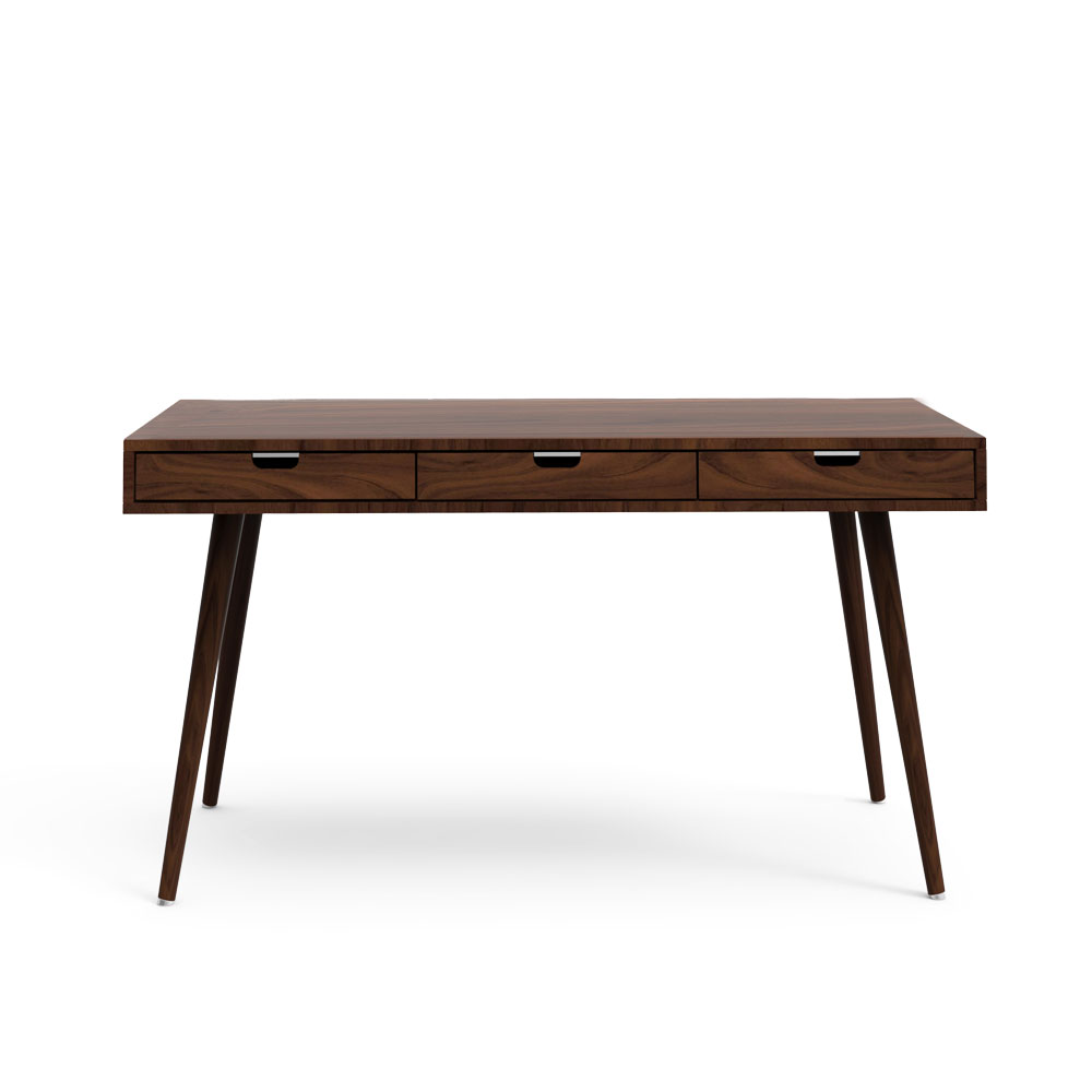 Dwindle Study Table-Natural