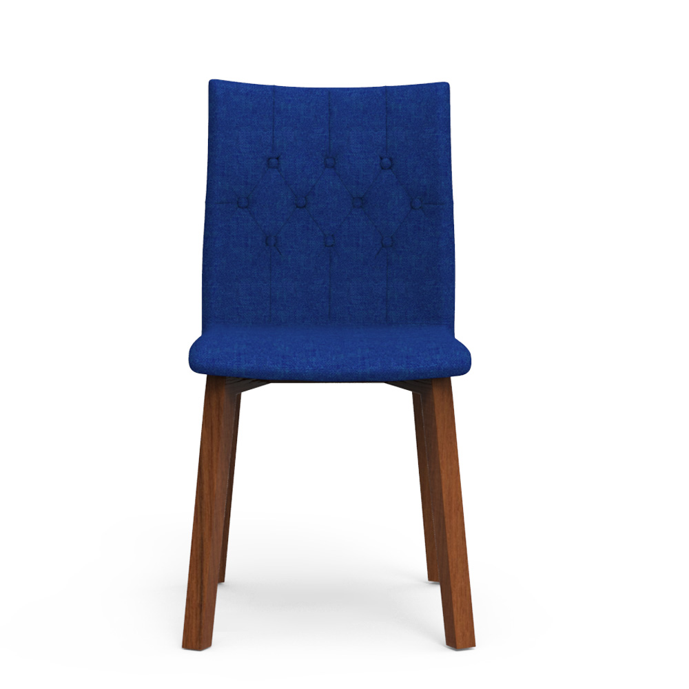 Spline Chair - Azure Blue
