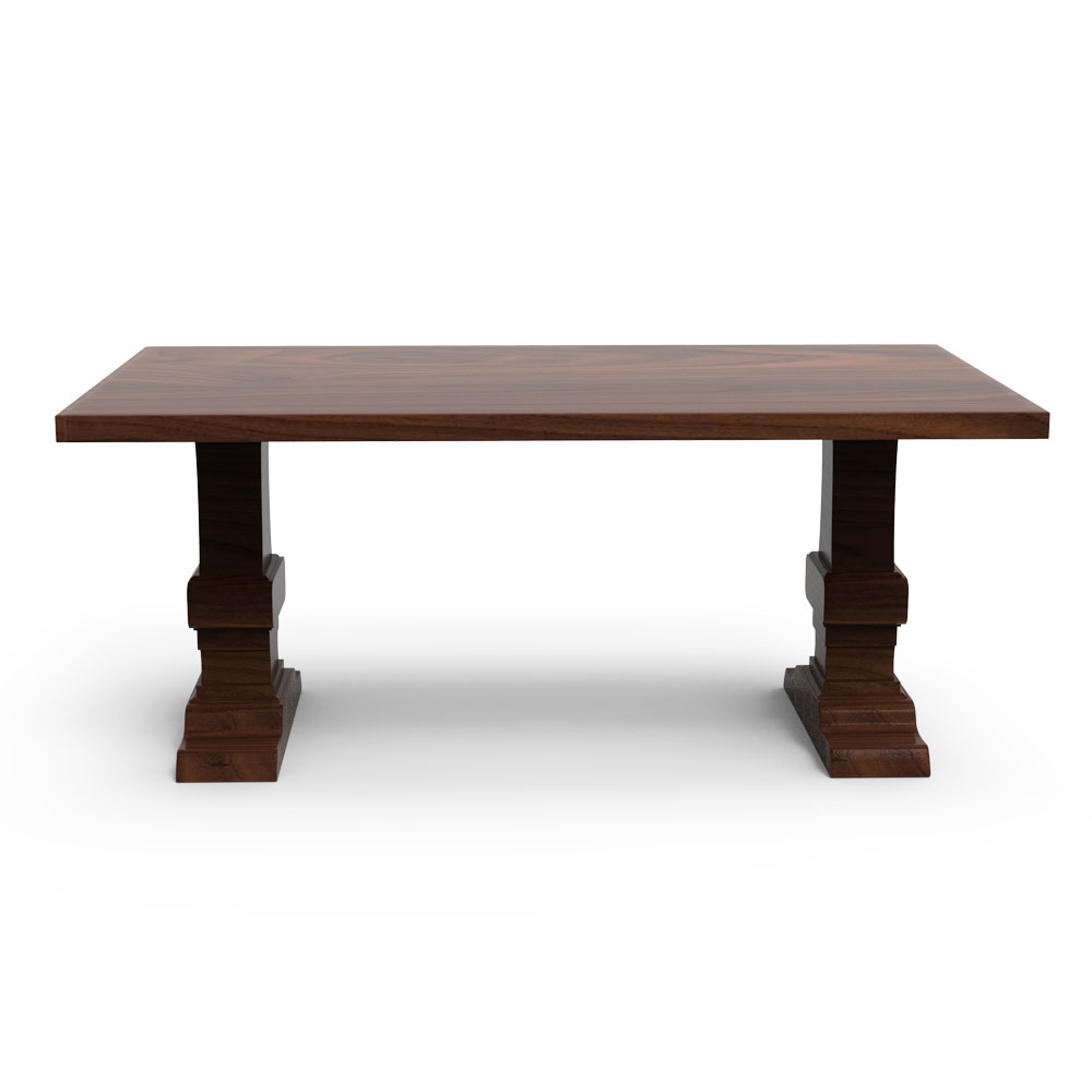 Weihev Dining Table-Natural