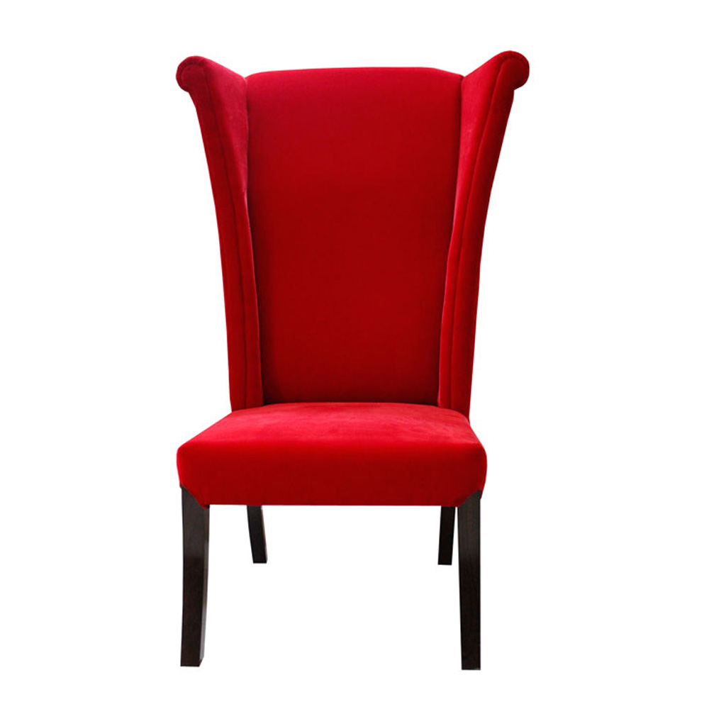 HATTER CHAIR - CRIMSON RED