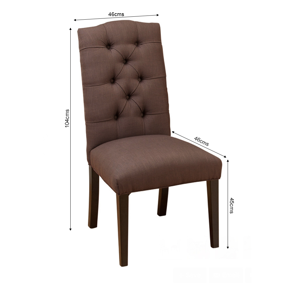 Buy Rf Mocha Chair Online at Best prices in India | Dining ...