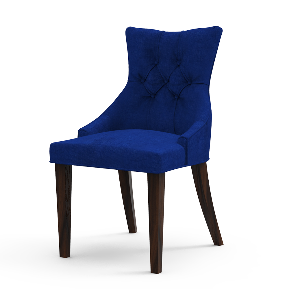 CROWN TUFTED BACK - BERRY BLUE