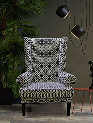 RAINFOREST WING BACK CHAIR