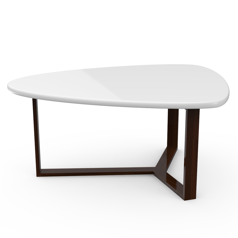 TRIO COFFEE TABLE - WHITE