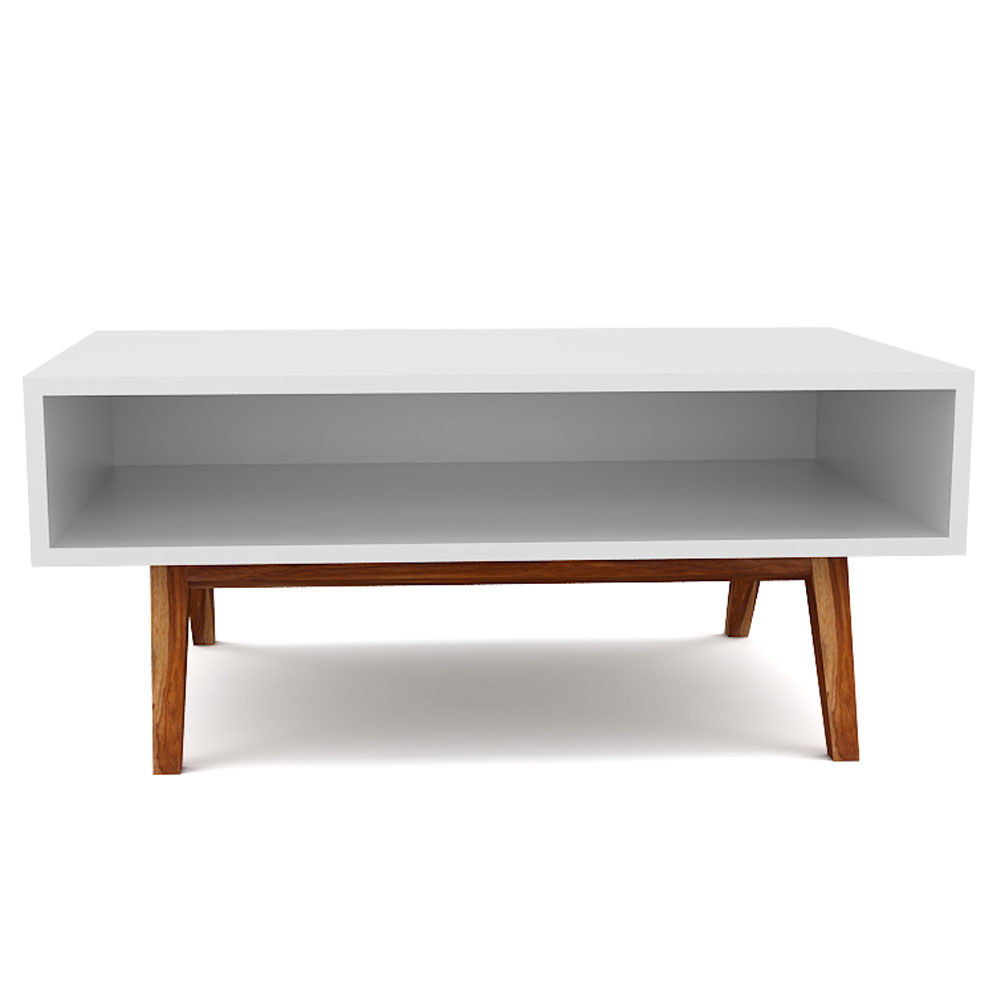 VOID COFFEE TABLE - MILKY WHITE
