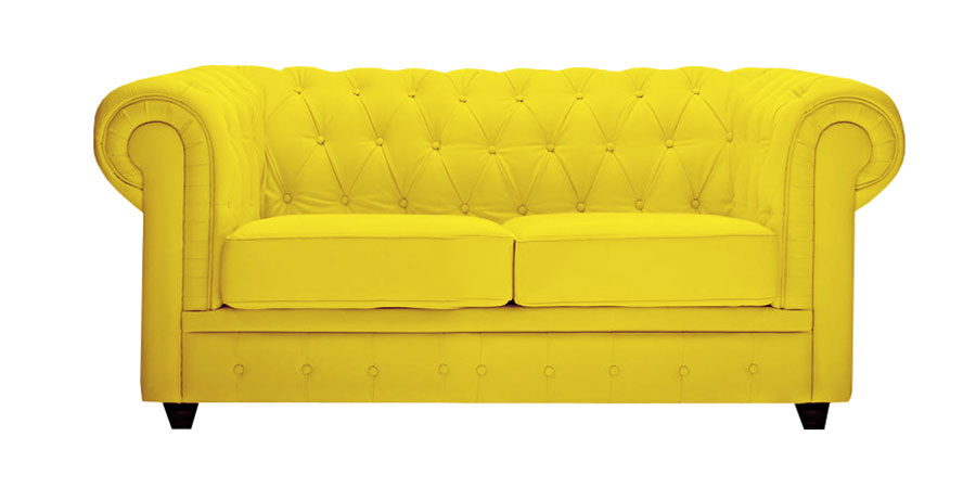 Chester Sofa - Bumblebee Yellow