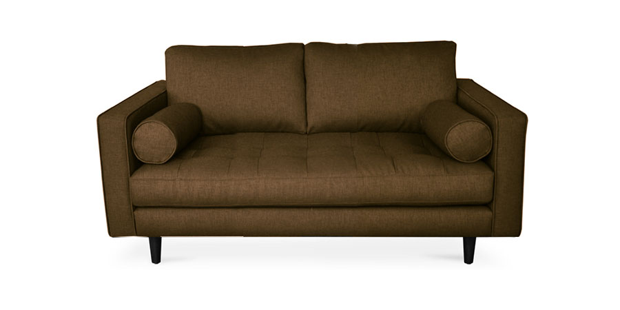 Seven Square Sofa - Brunette Brown