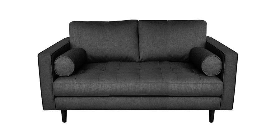 Seven Square Sofa - Graphite Grey