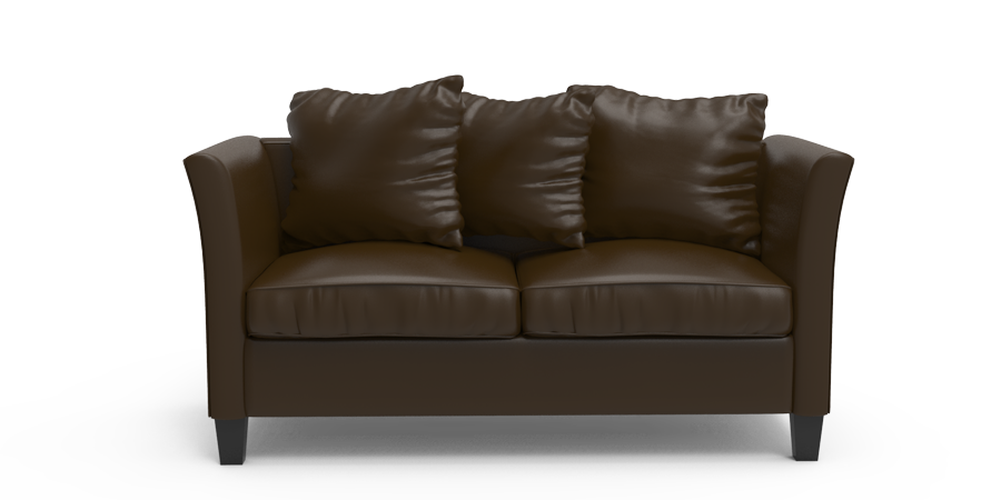 RETROGENE SOFA - BRUNETTE