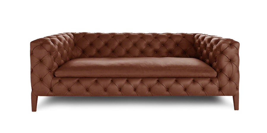 DUET CHESTERFIELD - CHOCOLATE BROWN