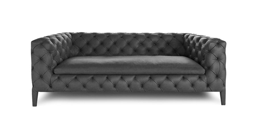 DUET CHESTERFIELD - RAVEN BLACK