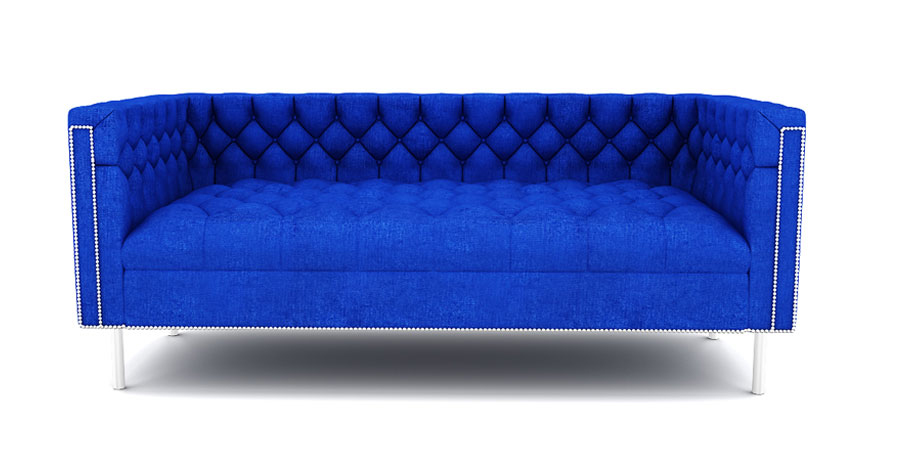 RAINFOREST REGAL SOFA - ADMIRAL BLUE