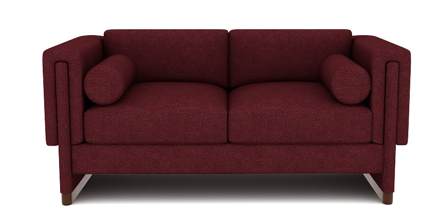 TEE SOFA - WINE RED