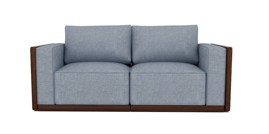 SPACE GRID SOFA - SLATE GREY