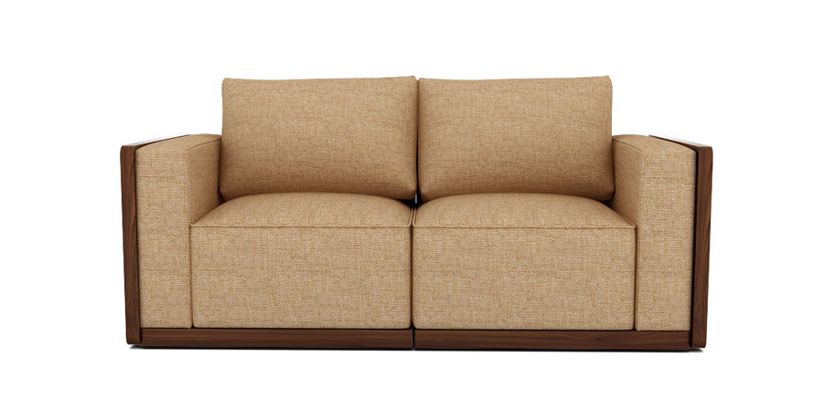 SPACE GRID SOFA - SAND BROWN