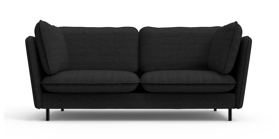 WINGLET SOFA - EBONY BLACK