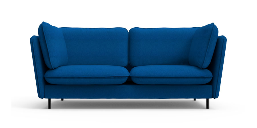 WINGLET SOFA - PEACOCK BLUE