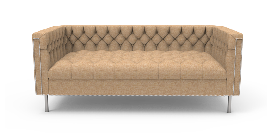 RAINFOREST REGAL SOFA - SAND BROWN