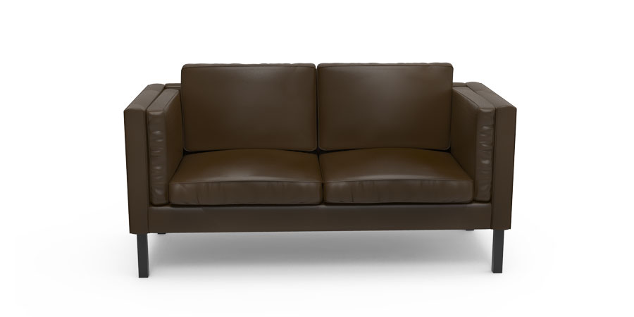 Retrogante Sofa - Brunette