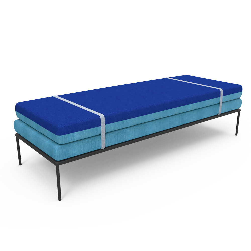 Modern Daybed - Cloud Blue