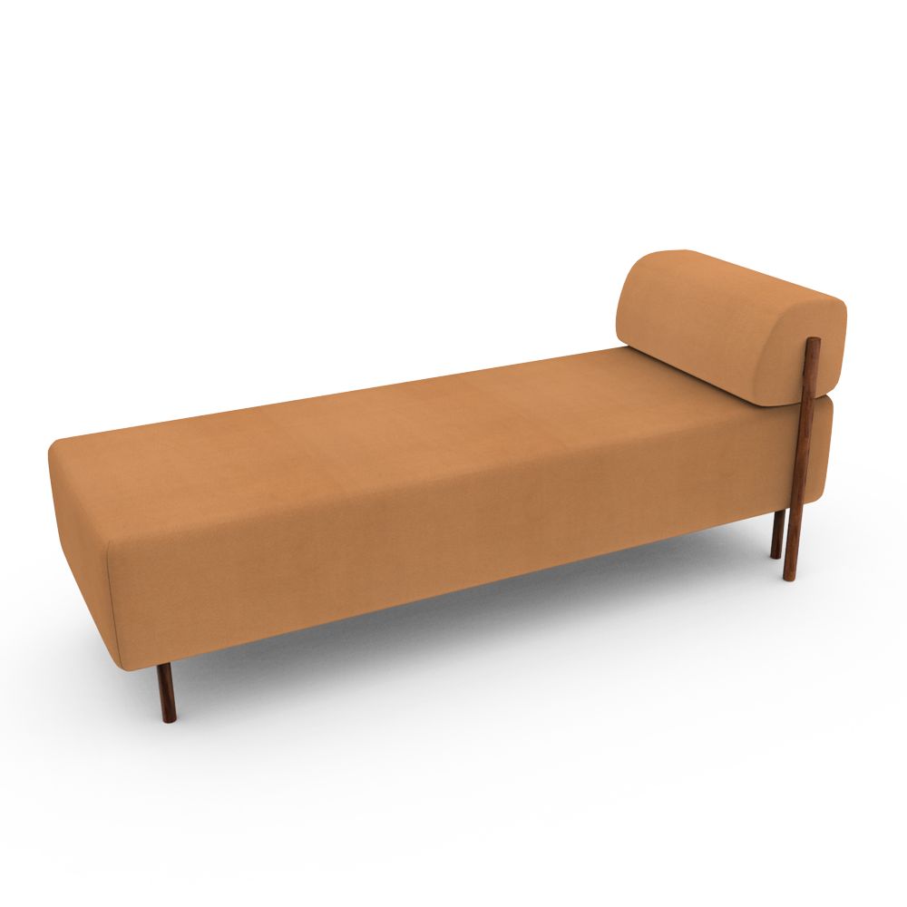 Rest lounger - Brown