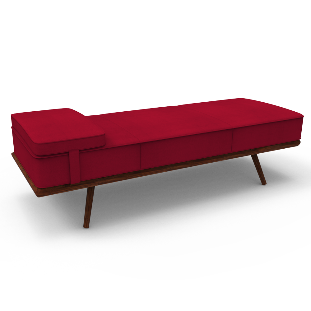 Spichord daybed - Red