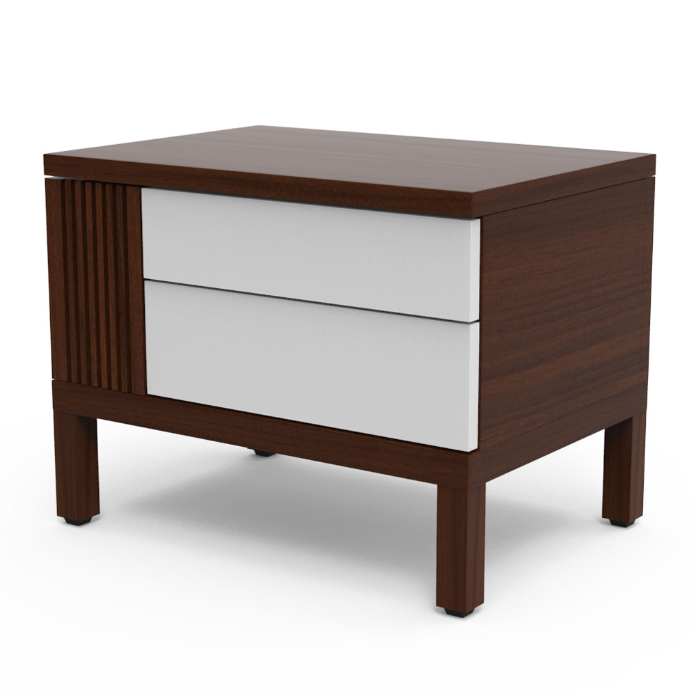 HIDEOUT SIDE TABLE - PEARL WHITE