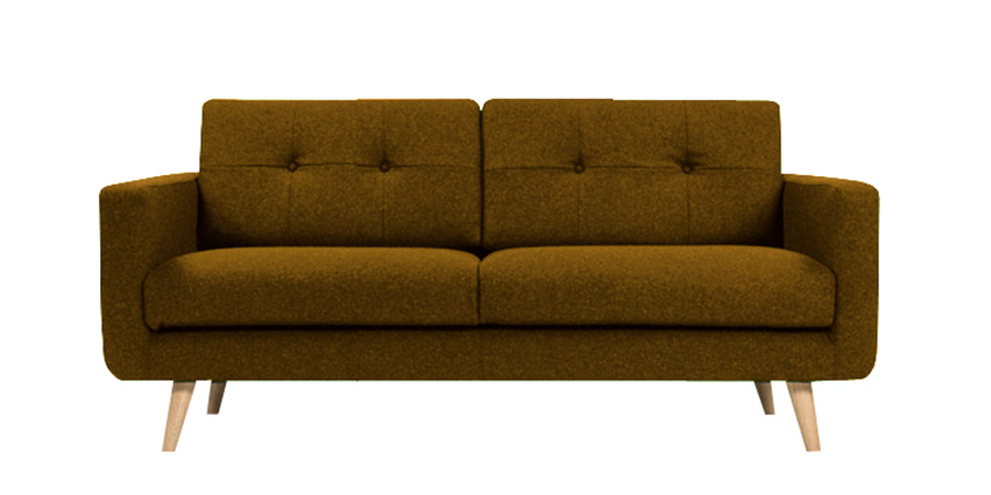 U sofa - Camel Brown