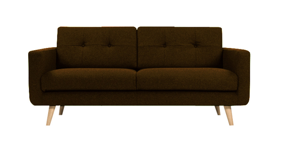 U sofa - Eclaire Brown